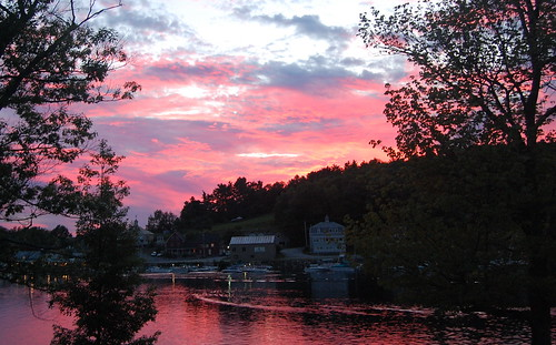 Sunapee Harbor Sunset