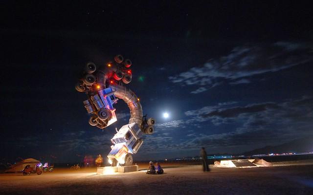 big rig jig at night