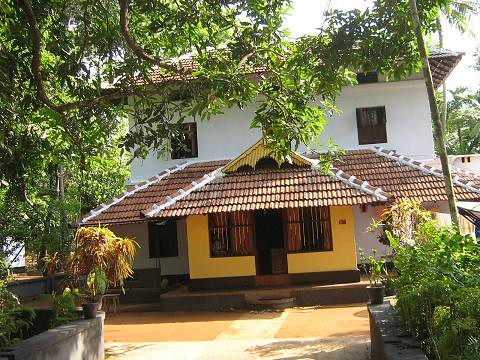 Traditional House at Kerala State, India. Photo by N G Nir Malanjkhand ...