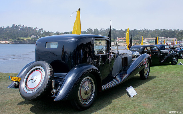 1932 Bugatti Type 41 Royale Binder Coupé De Ville - rvr
