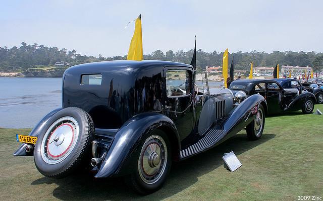 1932 Bugatti Type 41 Royale Binder Coupé De Ville - rvr