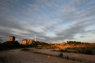 Shipton-on-Cherwell derelict cement works