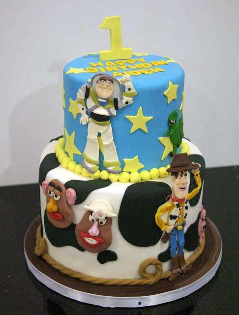 Toy Story Themed Birthday Cakes