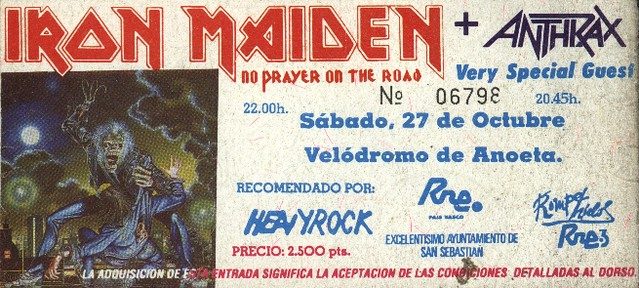 Iron Maiden+Anthrax