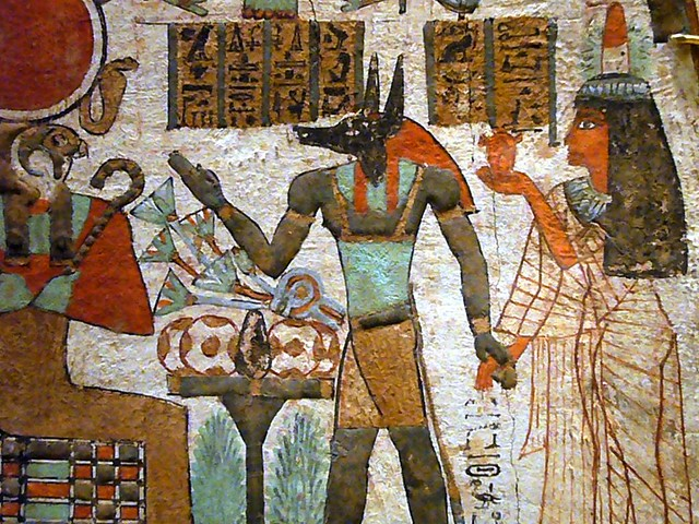 Ancient Egyptian Wall Painting Art
