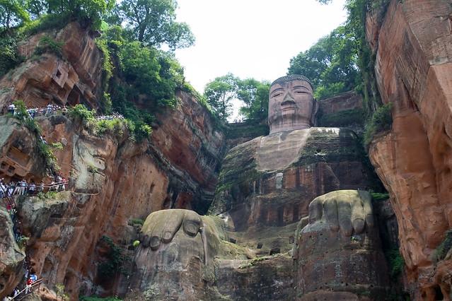 Gran Buda de Leshan. Sichuan. China.