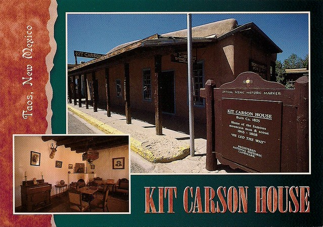 Kit carson house taos new mexico 28 images kit carson for Kit homes new mexico