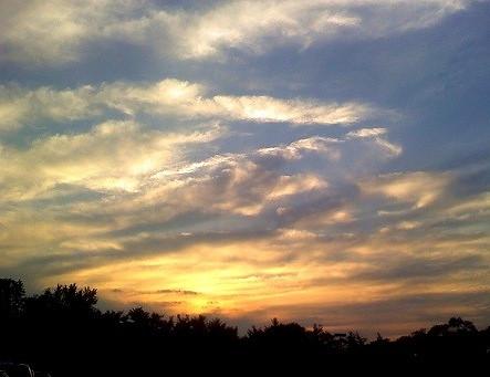sunset sky clouds newjersey nj medford burlingtoncounty tumblr june2010