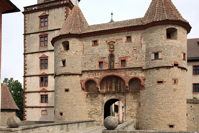 Marienberg entrance