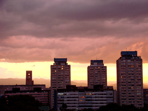 sunset méxico clouds mexico atardecer df skies nubes cielos tlatelolco novideo