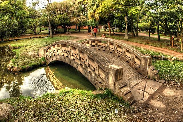 Parque Farroupilha -  Recanto Oriental