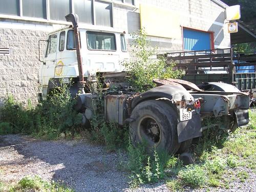 Tractora Dodge a Campdevànol