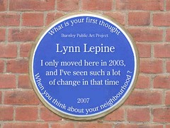 Photo of Blue plaque number 9417