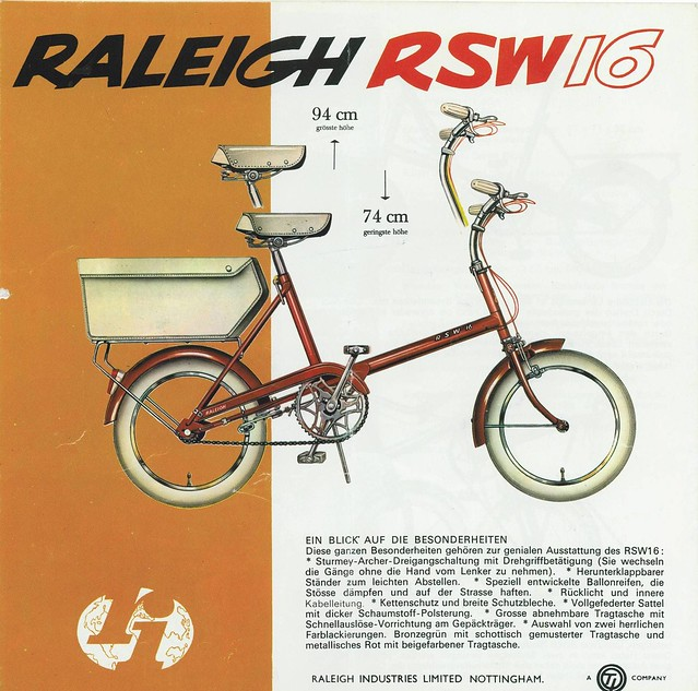 ...Raleigh RSW 16