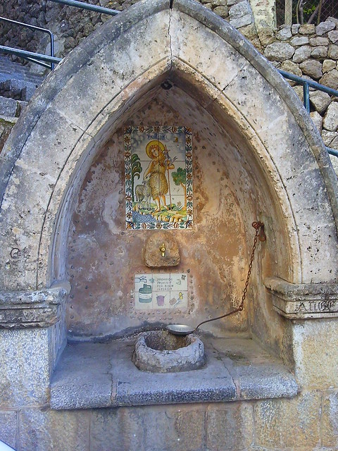 Drinking fountain Deia #mallorcatrip