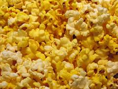 flower(0.0), yellow(1.0), kettle corn(1.0), food(1.0), snack food(1.0), popcorn(1.0),