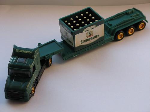 Staropramen Tieflader-Minitruck