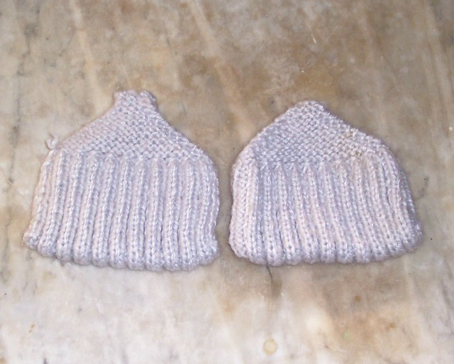 Pocketbook Slippers Knitted on old US size 8 needles ...