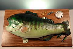 Largemouth Bass Groom's cake