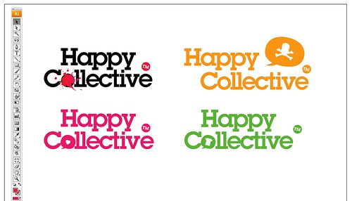 HappyCollective Logo WIPS