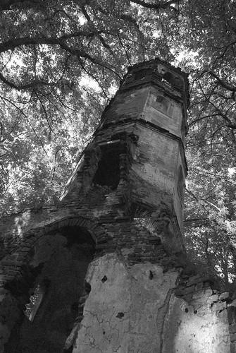 kirche ruine stgeorg kirchturm blumenthal aichach turmruine
