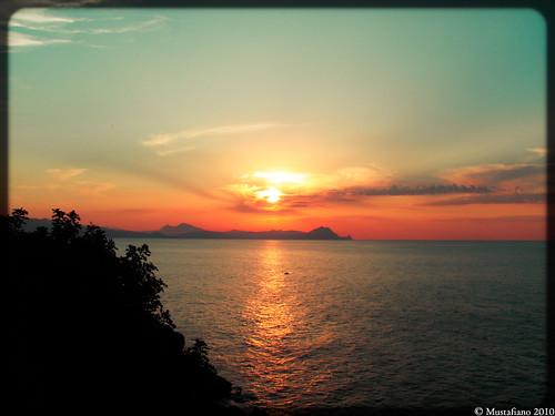 sunset sea summer sky panorama sun color nature beautiful wonderful landscape algeria paradise picture olympus ciel belle paysage vue beau paradis paradisio algérie panoramique beacu olympus1050μ