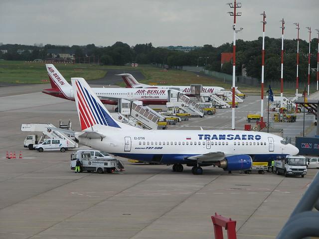 Boeing B737-500 der Transaero