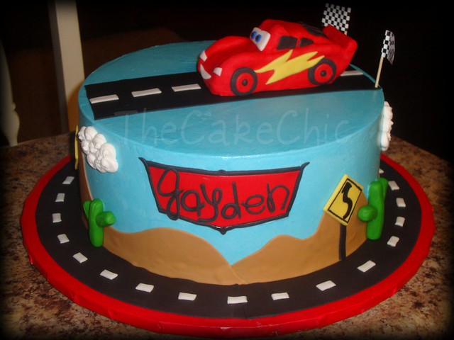Disney Cars Birthday Cake: 5107938530_a8b0d02192_z.jpg