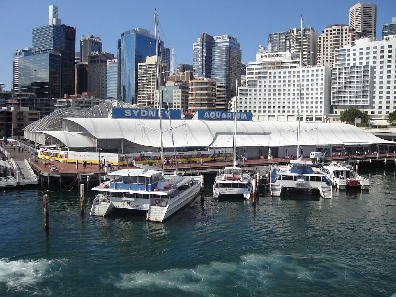 Sydney Aquarium at Darling Harbour