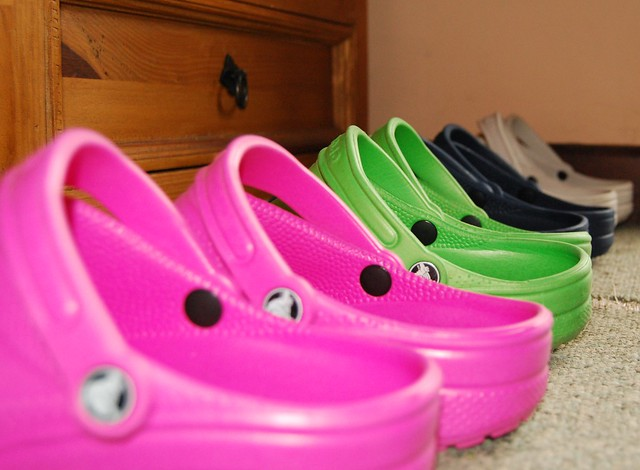My croc collection are four pairs really enough by for Crocs fleurs
