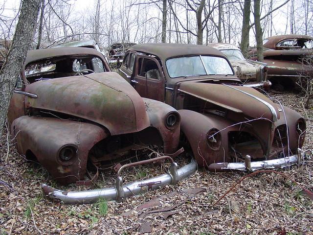 when cars were round