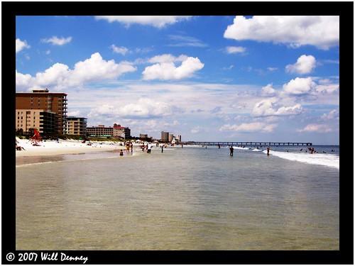 ocean beach water america florida united atlantic jacksonville states
