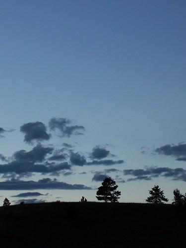 ranch sunset mountains rockies twilight colorado dusk altitude rocky pikespeak rugged twinrocks muellerstatepark blazym