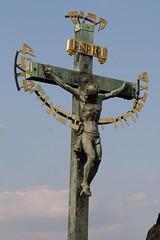 symbol, sculpture, monument, crucifix, cross, statue,