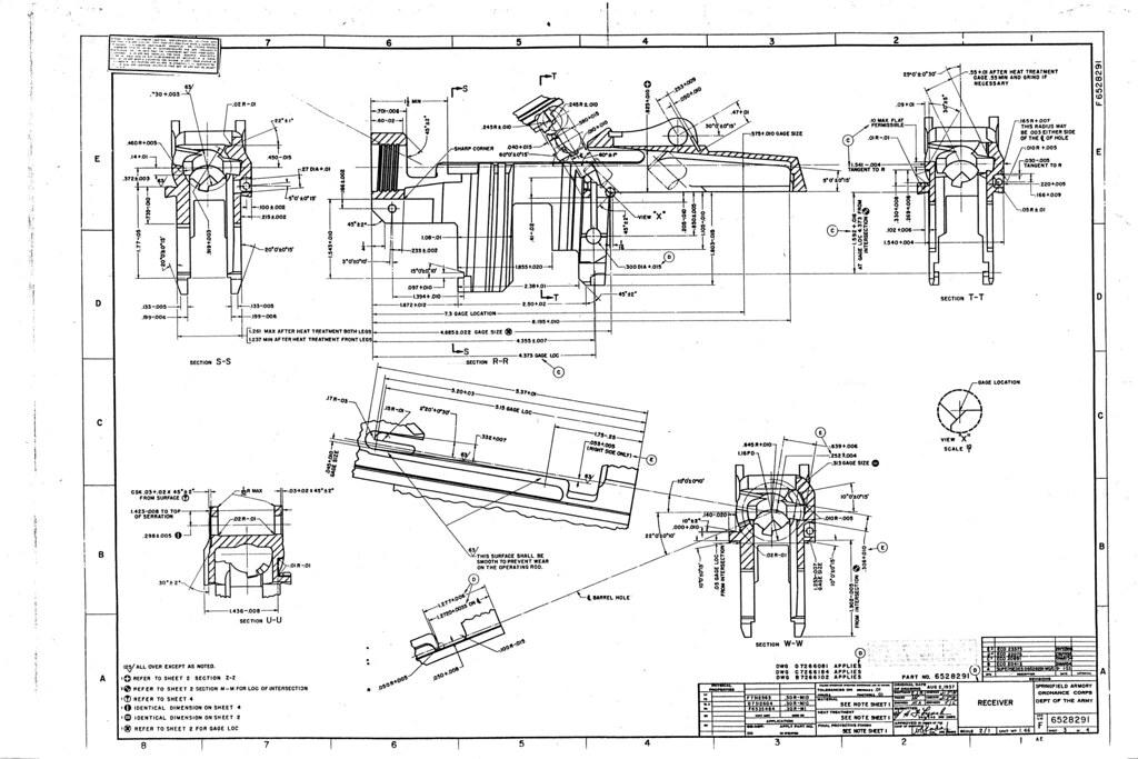M1 garand rifle blueprints now with 56k death ar15 com for Arkansas blueprint