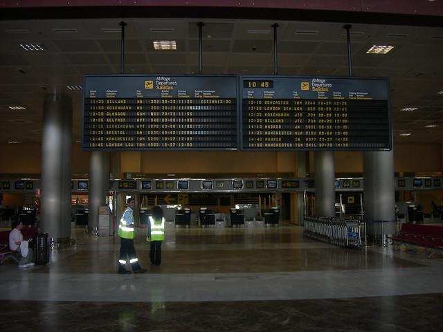 Tenerife Sur/South - Reina Sofia Airport