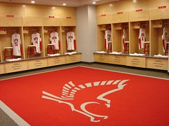 University of Hartford - Men's and Women's Basketball Wood Lockers 4