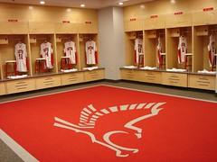 University of Hartford - Men's and Women's Basketball Wood Lockers 4