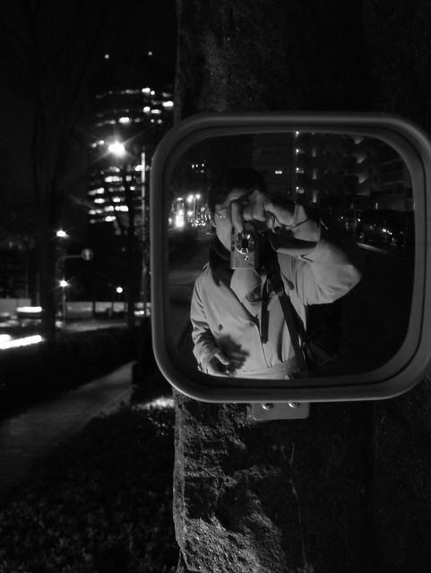 ME IN MIRROR:DSCF7308, Fujifilm FinePix F710