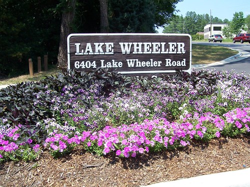 Entrance to Lake Wheeler, Raleigh, NC