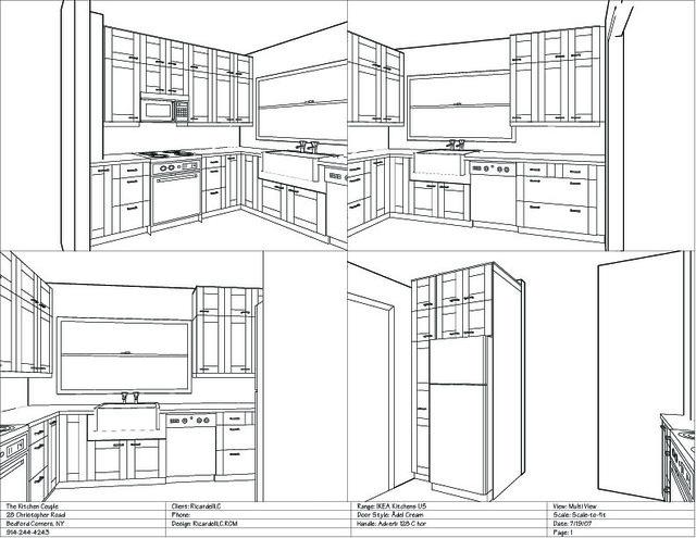 Kitchen Layout Too Many Doors