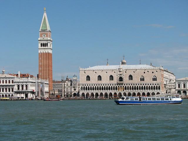 Dogenpalast und Glockenturm von San Marco