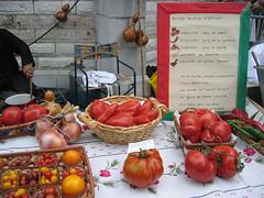 Vieux métiers Salies de Béarn: fruits et légumes anciens