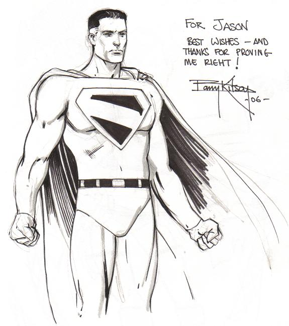Superman (Kingdom Come) by Barry Kitson (Baltimore Comic Con 2006)