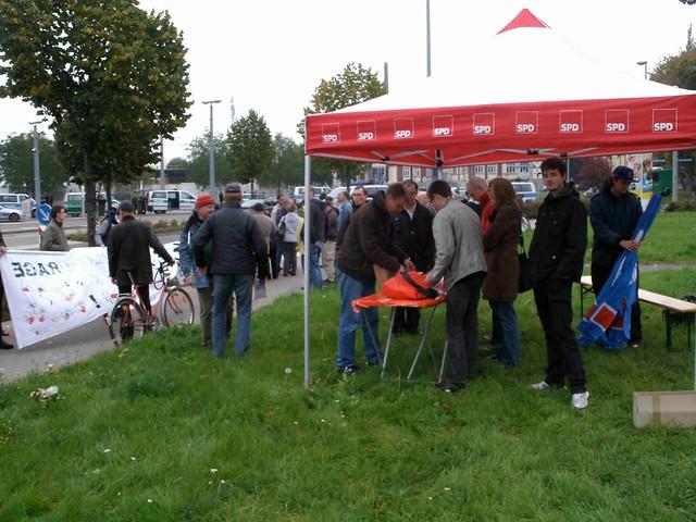 Gegendemonstration Halberstadt