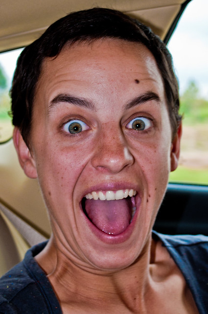 Nikki's surprised face   Flickr - Photo Sharing!