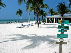 Duval Beach in Key West, Florida