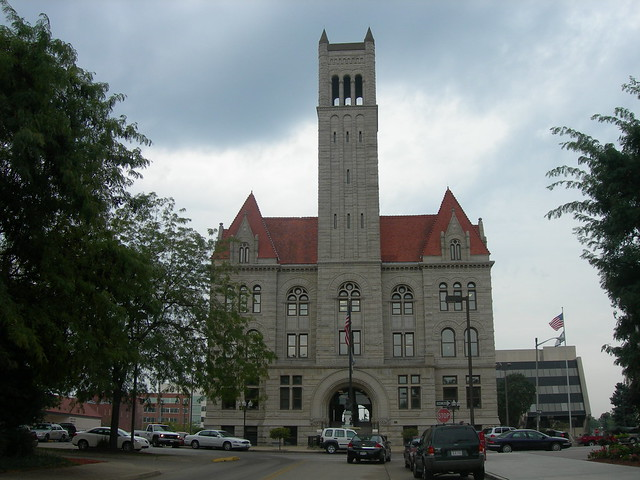Wood County Court House Parkersburg West Virginia