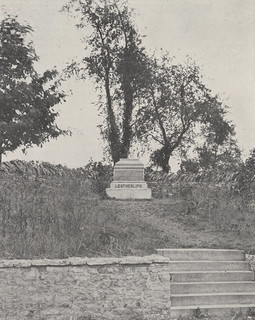 Leatherlips Monument, 1918