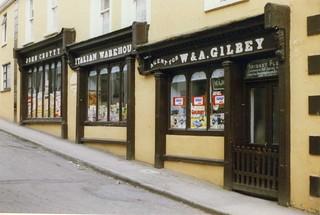John Crotty  Italian Warehouse, Bridge Street, Killaloe Co Clare, Apr 1989